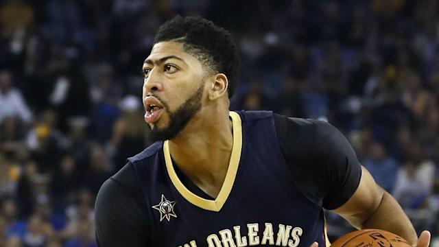 New Orleans Pelicans star Anthony Davis led his team past the Miami Heat in the NBA.