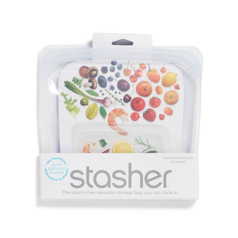 "This reusable silicone container is a <a href=""https://www.glamour.com/gallery/reader-picks-amazon-prime-day?mbid=synd_yahoo_rss"" rel=""nofollow noopener"" target=""_blank"" data-ylk=""slk:Glamour-reader favorite"" class=""link rapid-noclick-resp""><em>Glamour</em>-reader favorite</a>, and for good reason. It can be used for storing, freezing, or cooking food. $12, Nordstrom. <a href=""https://www.nordstrom.com/s/stasher-sandwich-reusable-silicone-storage-bag/5163596"" rel=""nofollow noopener"" target=""_blank"" data-ylk=""slk:Get it now!"" class=""link rapid-noclick-resp"">Get it now!</a>"
