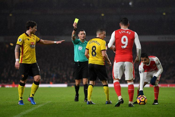Tom Cleverley would have got a ten-minute rest after his yellow card against Arsenal