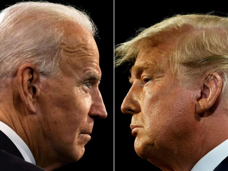 """Democratic presidential candidate Joe Biden has dismissed Donald Trump's """"photo-ops"""" with Kim as a """"vanity project"""""""
