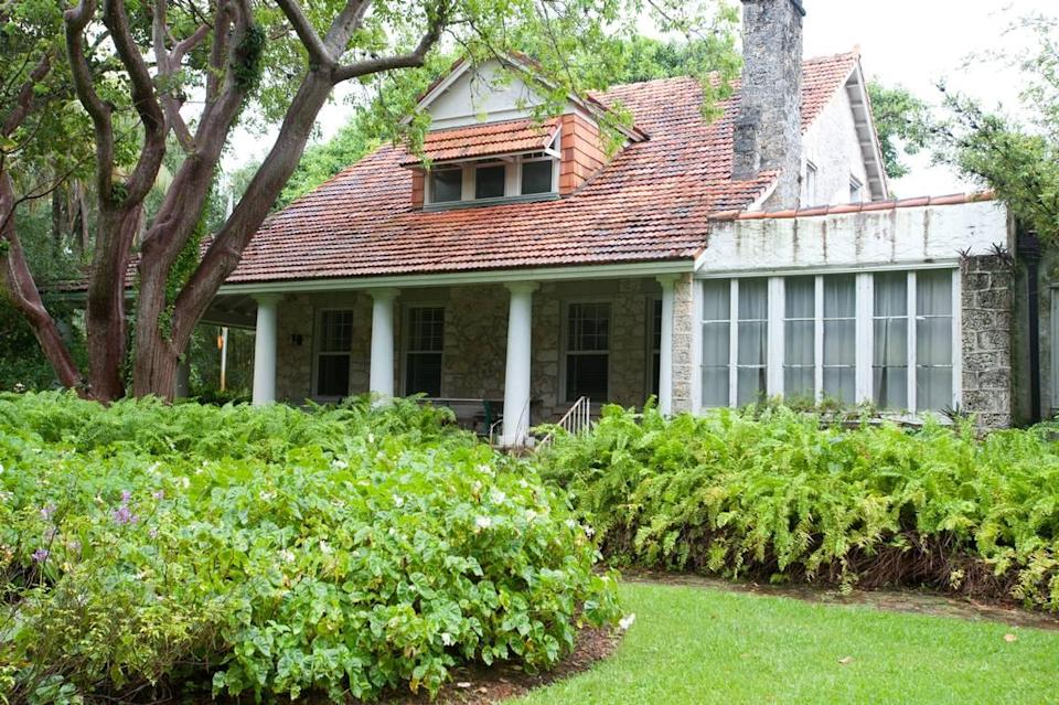 The Merrick House, 907 Coral Way, is listed on the National Register of Historic Places, Monday, Sept. 23, 2013, in Coral Gables. The house was the childhood home of Coral Gables Founder George Merrick. Daniel Bock/Miami Herald)