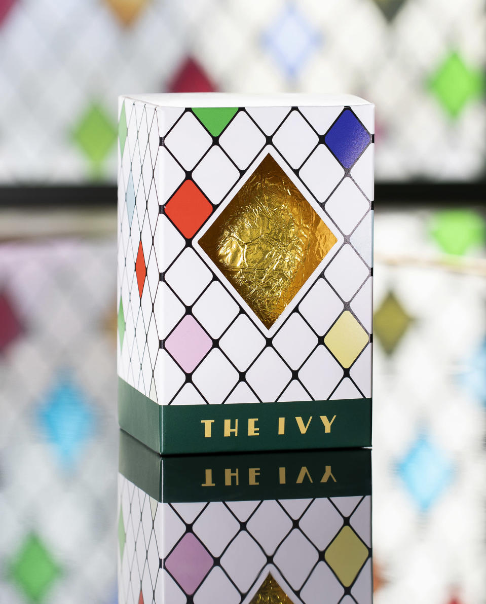 £20 milk or dark chocolate eggs from The Ivy [Photo: The Ivy]