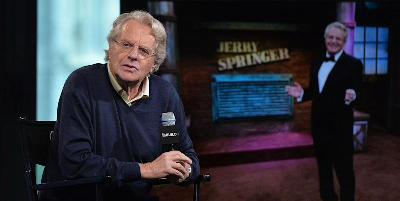Jerry Springer defends show following the deaths of two guests