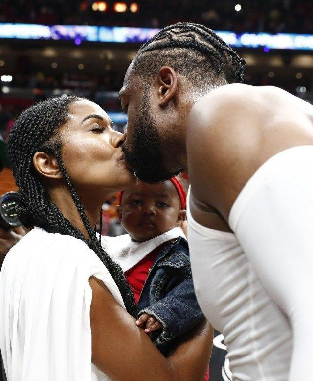 Dwyane Wade and Gabrielle Union's Daughter Adorably Steals the Show
