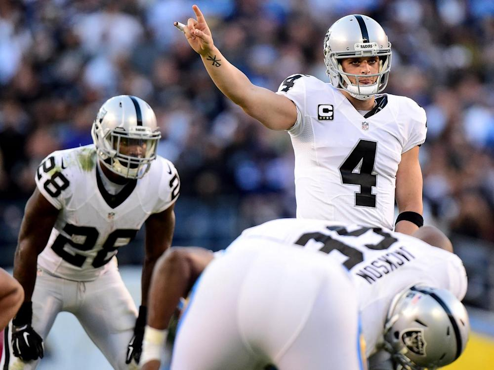 Quarterback Derek Carr and his team are on the move (Getty)