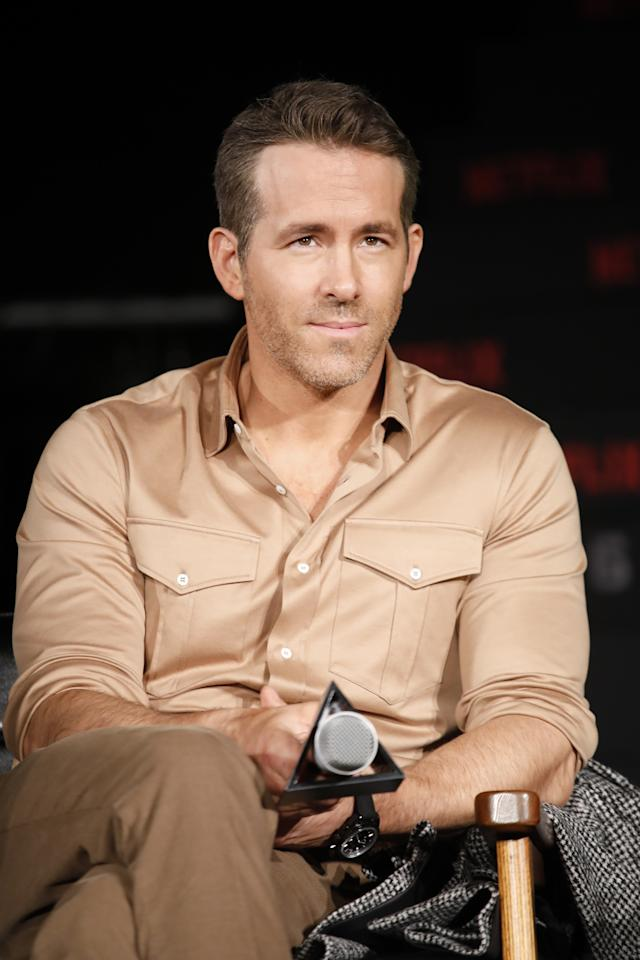 Ryan Reynolds continues to positively slay the art of the day three-ish beard.