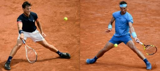 Final frontier: Dominic Thiem and Rafael Nadal
