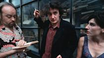 <p> <strong>UK:</strong> All4, Amazon Prime Video </p> <p> <strong>US:</strong> Amazon Prime Video, AcornTV, Hulu </p> <p> The anti-social Bernard Black (Dylan Moran) would ruddy love a lockdown, if it meant no pesky customers would come into his bookstore, and his long-suffering assistant Manny (Bill Bailey) would leave him the hell alone. He wouldn't deal well with the alcohol shortage, mind. This British sitcom created by Dylan Moran and Graham Linehan (Father Ted, The IT Crowd) has packed a tonne of quick wit, sarcasm and perfect performances into its short series. Throw in Tamsin Greig's madcap neighbouring shopkeeper Fran and you have something truly special. </p>