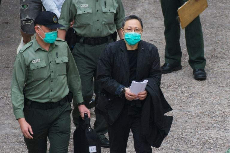 Defendants, including law professor Benny Tai, were taken back to court on Tuesday