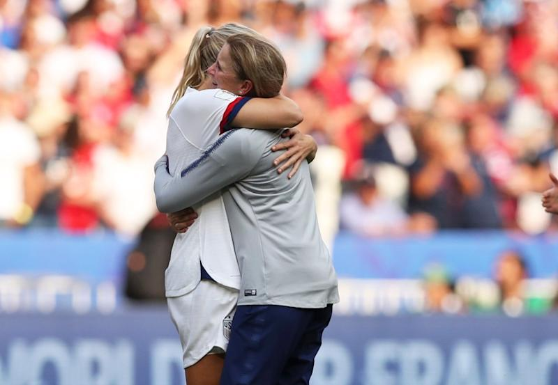 After winning the World Cup again, USWNT coach Jill Ellis has earned the right to do whatever she wants next. (Associated Press)