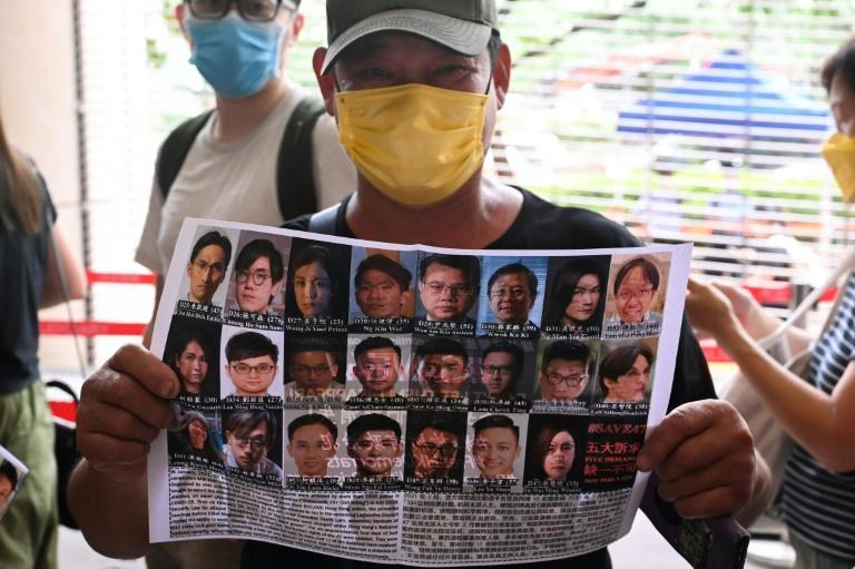 Beijing has moved to quash dissent in the semi-autonomous city after huge and sometimes violent pro-democracy demonstrations in 2019