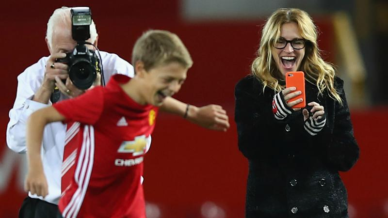 Julia Roberts - Manchester United- Old Trafford