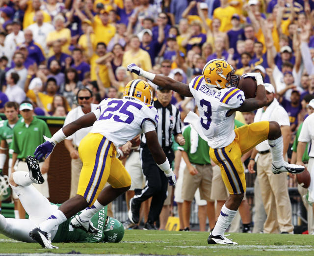 The 49ers filled one position of need with a former LSU Tiger. Could they really do the same at receiver?