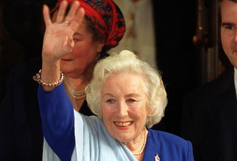 Dame Vera Lynn's funeral will be marked with a military flyover in her honour. (PA)