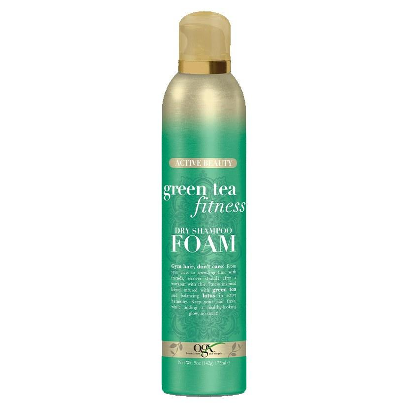 """<p>""""I was a dry shampoo foam skeptic-turned-believer thanks to this product. I was scarred by the crunchy results of mousse in the early aughts and, generally, there's something contradictory about using foam <a href=""""https://www.allure.com/gallery/ten-dry-shampoos-under-20?mbid=synd_yahoo_rss"""">as a dry shampoo</a>. But the OGX foam does everything you'd want a mousse to do without any additional brushing or heat styling (or crunchiness). You definitely have to work it into your roots, but the results are blowout-level volume and shine. It also smells amazing — people asked me all day what perfume I was wearing, and I <em>hair flip</em> told them it was just my hair"""" — <em>Danielle Odiamar, senior social media manager</em></p> <p><strong>$9</strong> (<a href=""""https://www.ulta.com/green-tea-fitness-dry-shampoo-foam?productId=xlsImpprod18181023"""" rel=""""nofollow"""">Shop Now</a>)</p>"""