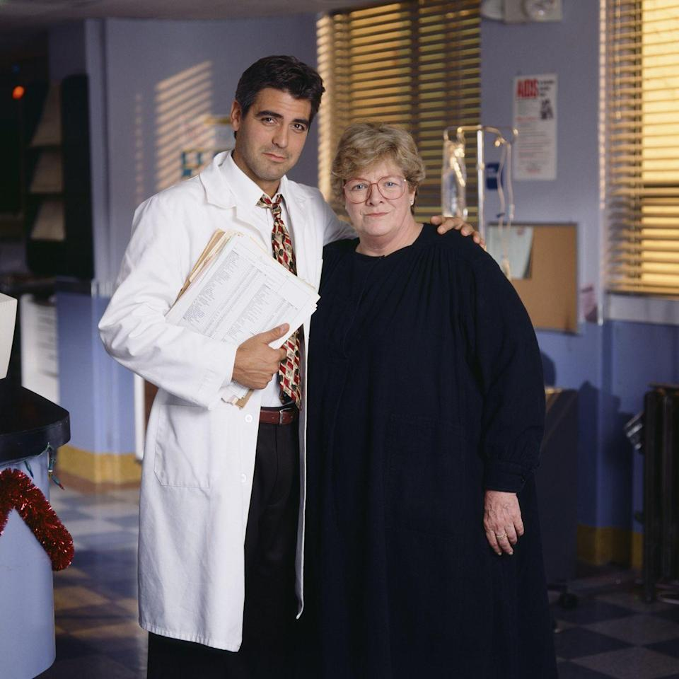 <p>George Clooney welcomed his aunt, famous '50s singer Rosemary Clooney, to the show in 1994. The <em>White Christmas </em>actress landed a reoccurring role as Mary Cavanaugh or Madame X, an elderly woman suffering from Alzheimer's. </p>