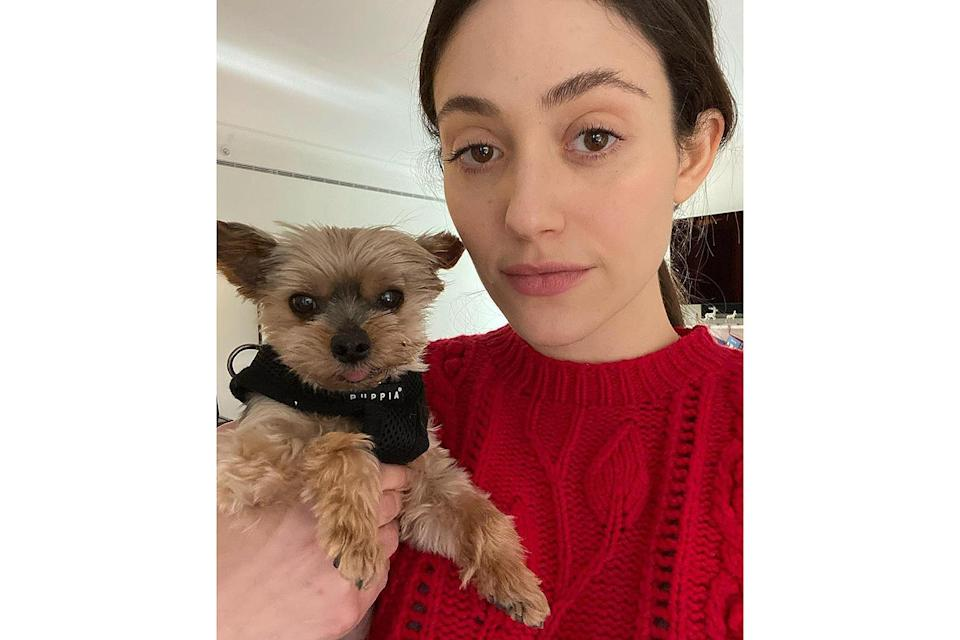 """<p>Emmy Rossum <a href=""""https://people.com/pets/emmy-rossum-dog-cinnamon-dead/"""" rel=""""nofollow noopener"""" target=""""_blank"""" data-ylk=""""slk:paid tribute"""" class=""""link rapid-noclick-resp"""">paid tribute</a> to her """"best boy"""" and rescue dog Cinnamon on April 9.</p> <p>""""We lost our best friend of nearly 14 years today,"""" <a href=""""https://www.instagram.com/p/CNa_7L3lxEX/?utm_source=ig_embed"""" rel=""""nofollow noopener"""" target=""""_blank"""" data-ylk=""""slk:Rossum began on Instagram"""" class=""""link rapid-noclick-resp"""">Rossum began on Instagram</a>, writing that her pup """"was loved"""" by her family — including husband <a href=""""https://people.com/style/emmy-rossum-marries-sam-esmail-wedding/"""" rel=""""nofollow noopener"""" target=""""_blank"""" data-ylk=""""slk:Sam Esmail"""" class=""""link rapid-noclick-resp"""">Sam Esmail</a>, their dogs Sugar and Pepper, and their cat Fiona.</p> <p>""""He loved eating, sleeping, and traveling. He loved barking at children and eating discarded pizza crusts off the street,"""" she continued. """"He loved being carried and he loved being loved.""""</p> <p>""""I will always be his mother,"""" Rossum added. """"He was my best boy.""""</p>"""