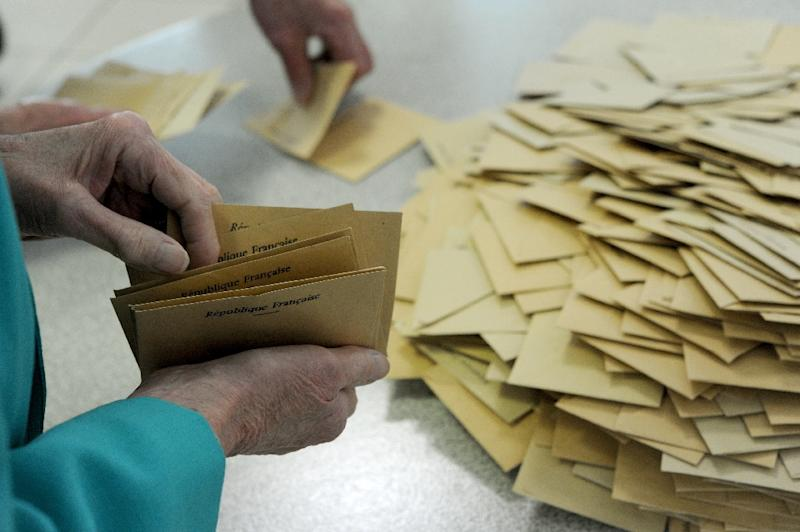 According to official results with more than 80 percent of votes counted, the abstention rate stood at 24.52 percent -- the highest since the presidential election in 1969