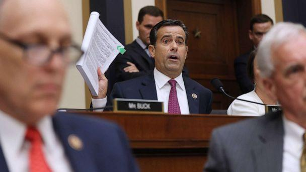 PHOTO: Rep. John Ratcliffe questions former Special Counsel Robert Mueller as he testifies before the House Judiciary Committee about his report on Russian interference in the 2016 presidential election, July 24, 2019, in Washington, D.C. (Chip Somodevilla/Getty Images)