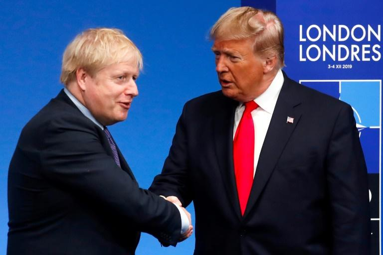 Britain's Prime Minister Boris Johnson and US President Donald Trump have a similar right-wing, populist message
