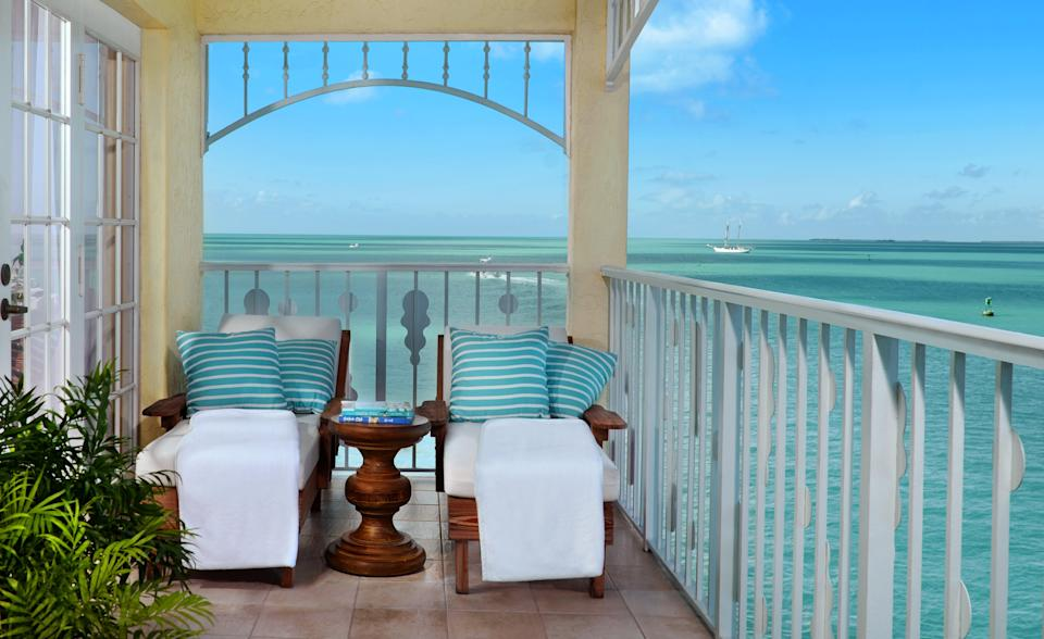Views from the balcony are impressiveOcean Key Resort and Spa