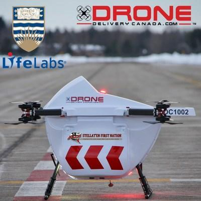DRONE DELIVERY CANADA SIGNS AGREEMENT WITH UBC FOR REMOTE COMMUNITIES DRONE TRANSPORTATION INITIATIVE (CNW Group/Drone Delivery Canada Corp.)