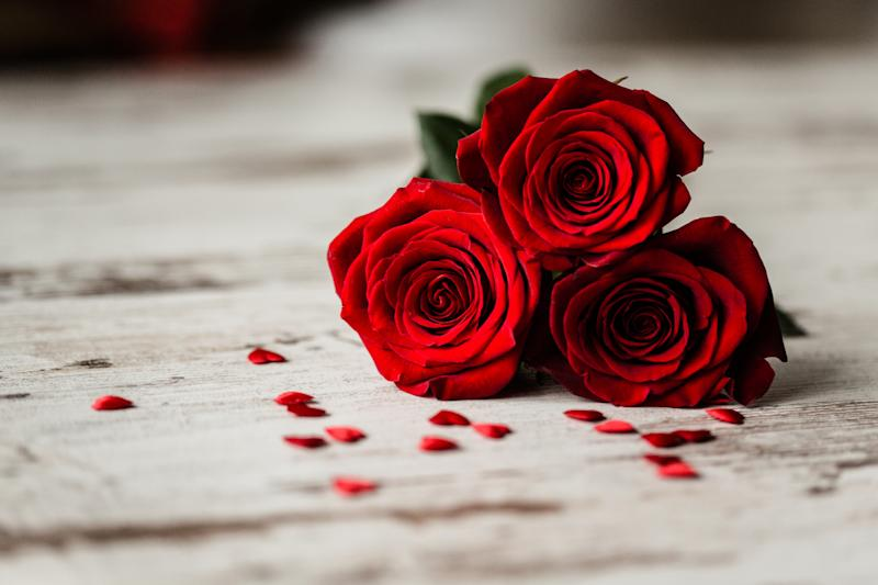 Flowers aren't the most popular gift on Valentines [Photo: Getty]