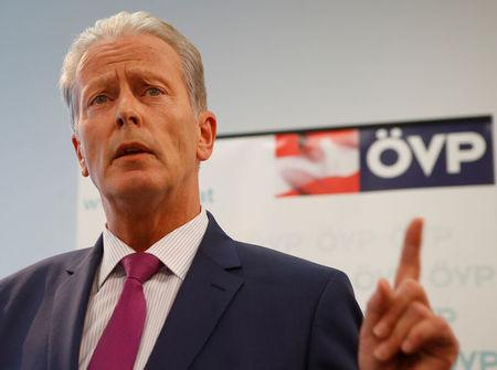 Austrian vice chancellor steps down amid party infighting