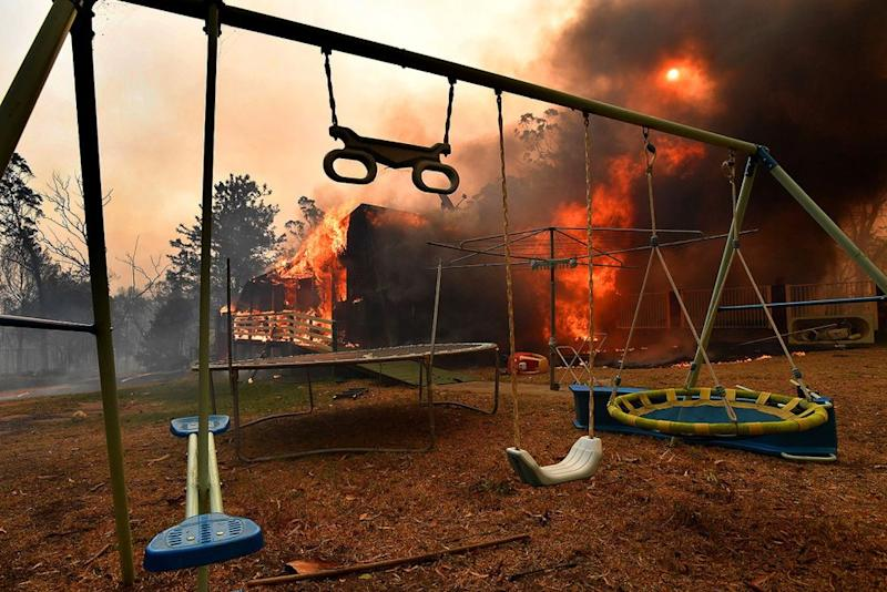 Bushfires in Australia are destroying entire towns