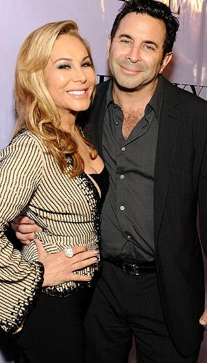 Real Housewives of Beverly Hills stars Adrienne Maloof and Paul