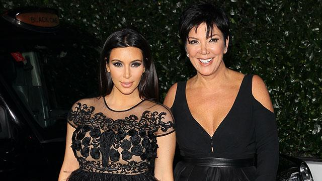 Kris Jenner Says Kardashian's Baby Name, North, Is 'Great! Why Not?'
