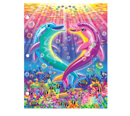 A playful folder from the one and only Lisa Frank! (Photo: Walmart)