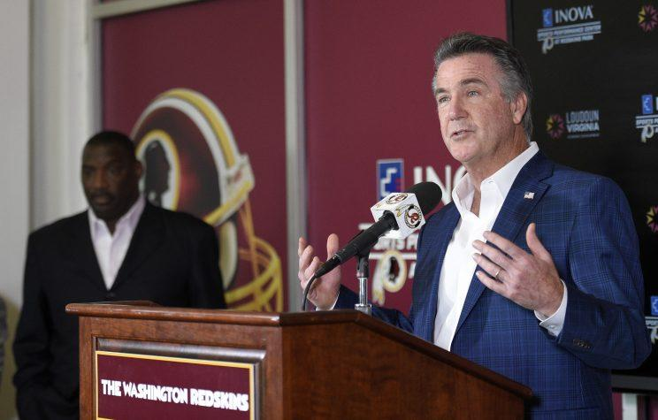 Bruce Allen has been with the Redskins since the 2010 season. (AP)