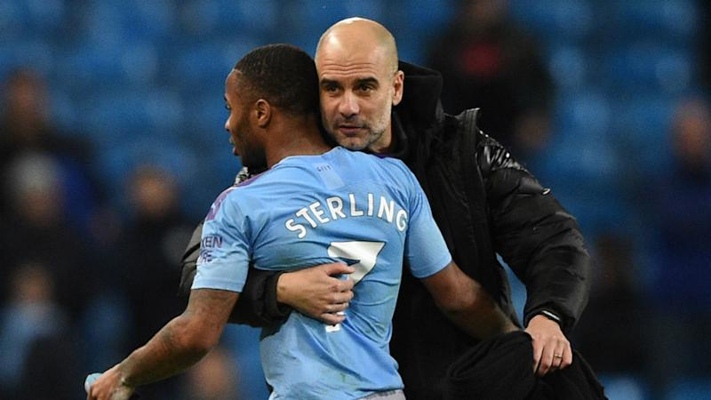 Guardiola proud of Sterling's efforts in anti-racism fight