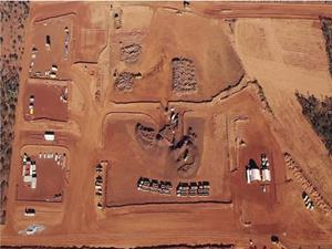 GWR's C4 deposit operations at Wiluna West in Western Australia.  (Image courtesy of GWR)