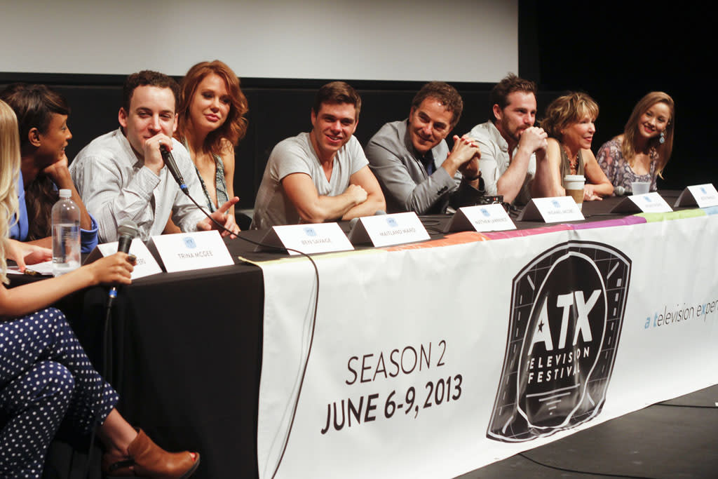 "The ""Boy Meets World"" reunion panel at the ATX Television Festival on Friday, June 7, 2013 in Austin, Texas."