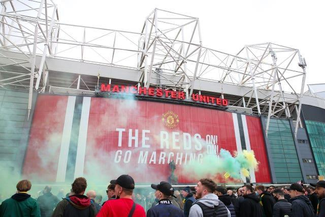 Manchester United's match against Liverpool was called off on Sunday