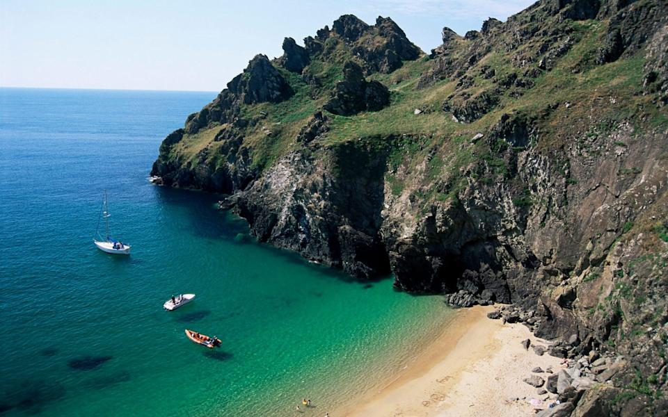 The sun is shining on Devon as it reopens to visitors - Getty