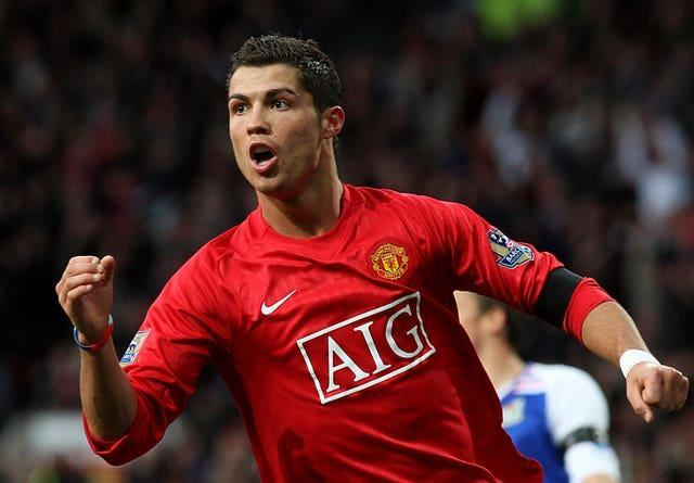 Cristiano Ronaldo enjoyed immense success in his first stint at Manchester United (Martin Rickett/PA)