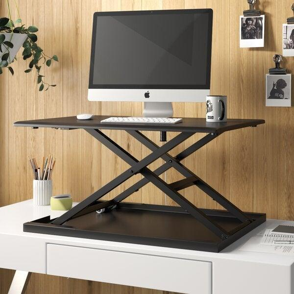 "<h2>Standing-Desk Converter</h2> <br><strong>Will Support: Circulation</strong><br>You don't need to buy an entirely new desk to get the standing style's ergonomic benefits of increased circulation. Instead, try going with a converter that can be adjusted to your body's height and needs while also allowing for easy transitions between sitting and standing throughout the day. <br><br><strong>Supported Say: </strong>""I use this at home on my desk — it was very easy to assemble and is perfect for teleworkers. I stand for half the day and sit for half a day. Love this item!"" <em>– Julie, <a href=""https://www.wayfair.com/furniture/pdp/symple-stuff-westbury-pneumatic-height-adjustable-standing-desk-converter-w002050941.html#7p6ngzsgbnb-2"" rel=""nofollow noopener"" target=""_blank"" data-ylk=""slk:Wayfair"" class=""link rapid-noclick-resp"">Wayfair</a> Reviewer</em><br><br><strong>Symple Stuff</strong> Westbury Pneumatic Height Adjustable Standing Desk Converter, $, available at <a href=""https://go.skimresources.com/?id=30283X879131&url=https%3A%2F%2Fwww.wayfair.com%2Ffurniture%2Fpdp%2Fsymple-stuff-westbury-pneumatic-height-adjustable-standing-desk-converter-w002050941.html"" rel=""nofollow noopener"" target=""_blank"" data-ylk=""slk:Wayfair"" class=""link rapid-noclick-resp"">Wayfair</a><br><br><br><br>"