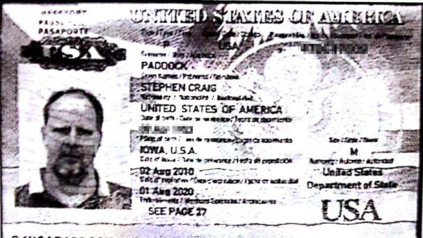 PHOTO: Stephen Paddock, 64, seen here in his passport photo, is the man suspected of opening fire on a crowd of concertgoers in Las Vegas on Sunday night. (Obtained by ABC News)