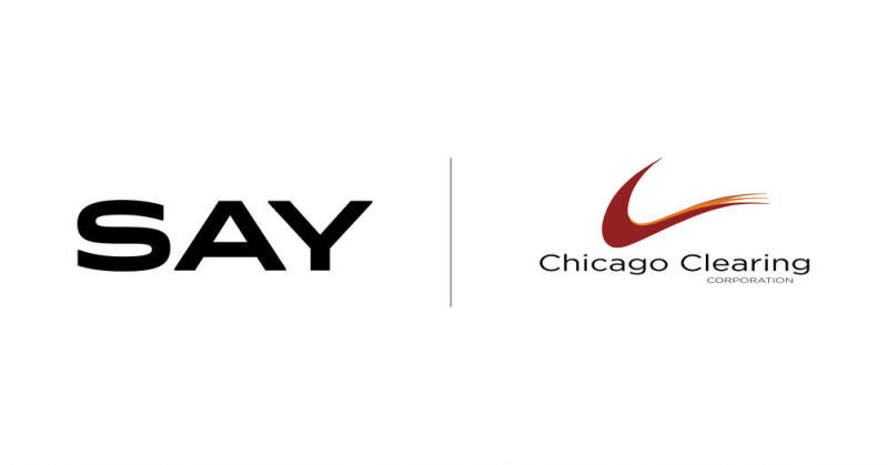Say Partners With Chicago Clearing Corporation to Launch Class Action Services For Broker-Dealers