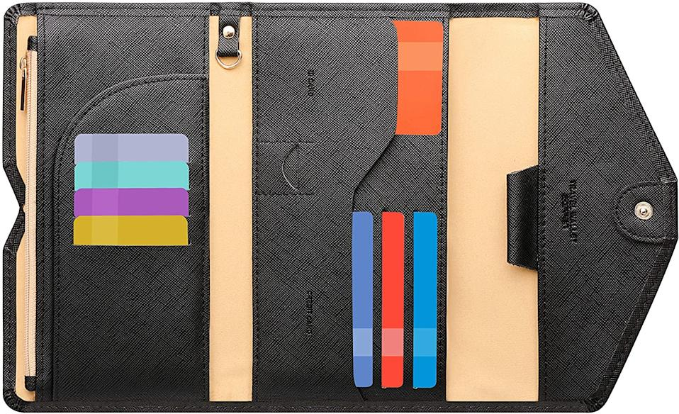 Zoppen Mulit-Purpose RFID Blocking Travel Passport Wallet