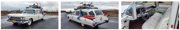 The Ecto-mobile from Ghostbusters (Credit: US Marshals Service)