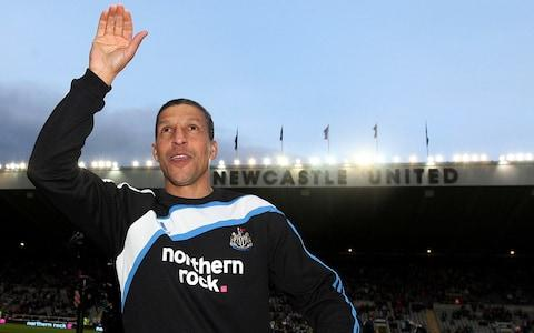 Hughton's first managerial job was to take Newcastle back into the top flight in 2010 - Credit: AP
