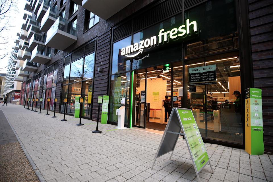 Amazon is seen by some as a possible buyer for Morrisons. Unlikely, in others' view (PA Wire)