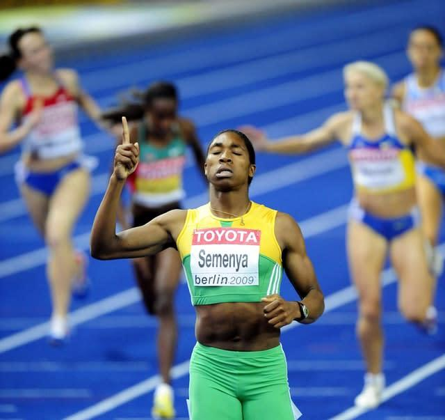 Caster Semenya was subjected to intense speculation about her gender after her breakthrough win at the 2009 World Championships in Berlin – an episode that shamed the sport and hurt an innocent 18-year-old (John Giles/PA)