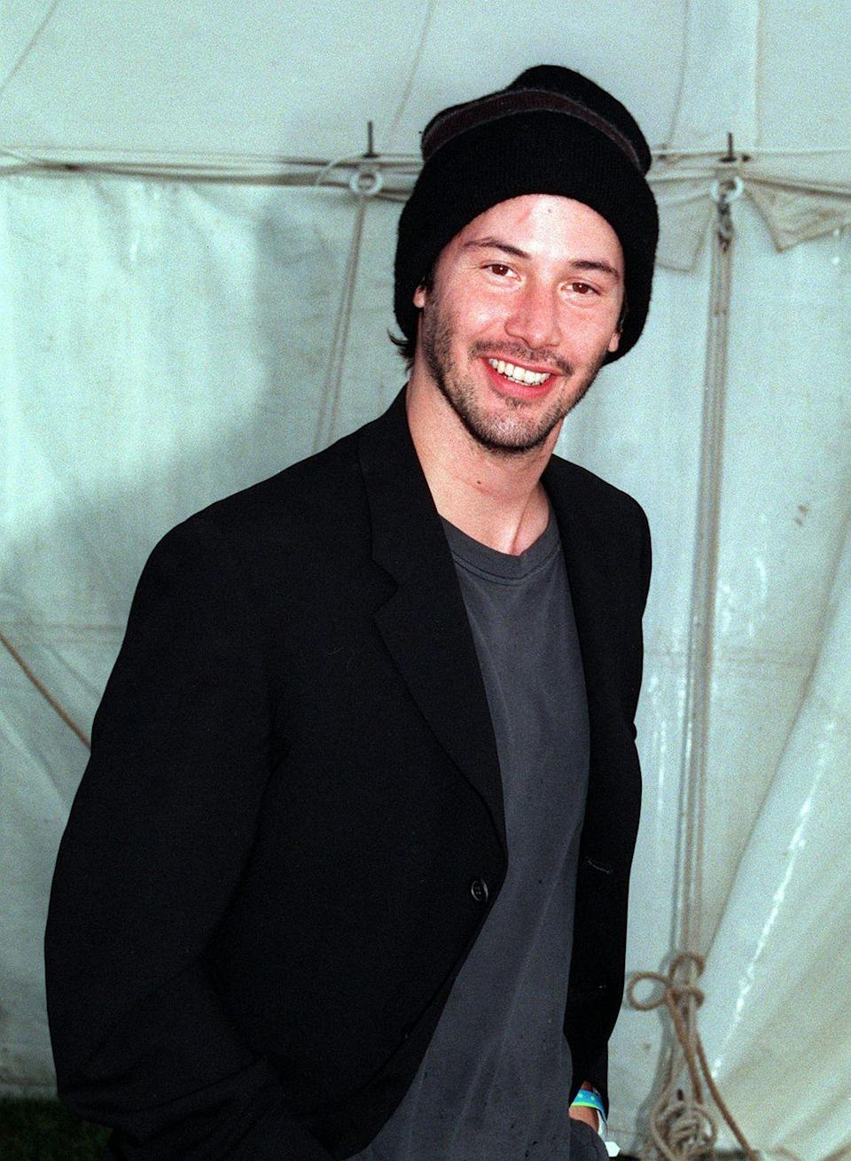 <p>Another heartthrob of the 1980s-1990s, Reeves was known for unconventional roles, including<em> Bill and Ted Face the Music</em><em>, Speed, The Matrix</em> franchise and <em>My Own Private Idaho.</em></p>