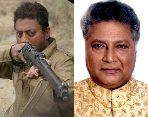 The award for the Best Actor has been shared by Shri Irrfaan playing the title role in Paan Singh Tomar and  Shri Vikram Gokhale for the film Anumati(Marathi).