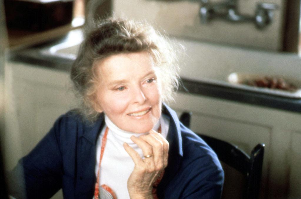 "Best Actress Winner - Katharine Hepburn, 74, ""On Golden Pond"""